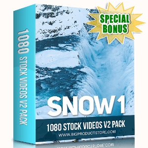 Special Bonuses - September 2019 - Snow 1 - 1080 Stock Videos V2 Pack