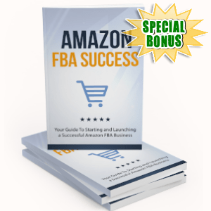 Special Bonuses - October 2019 - Amazon FBA Success Pack