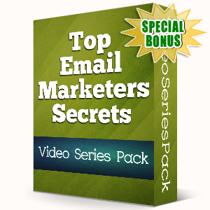 Special Bonuses - November 2019 - Top Email Marketers Secrets Video Series Pack