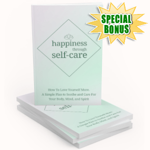 Special Bonuses - November 2019 - Happines Through Self-care Pack