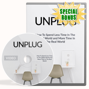 Special Bonuses - March 2020 - Unplug Video Upgrade Pack