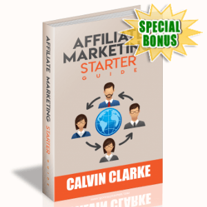 Special Bonuses - March 2020 - Affiliate Marketing Starter Guide
