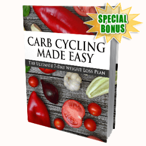 Special Bonuses - April 2020 - Carb Cycling Made Easy