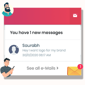 MarketPresso V2 Features - Real Time Order & Message Notifications