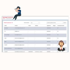 MarketPresso V2 Features - User Management & Customers Profile