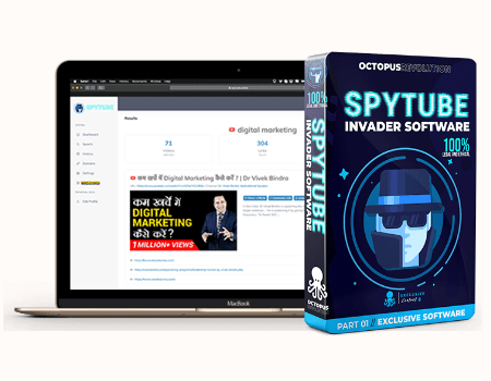 Octopus Revolution Features - SPYTube® Spy Tool