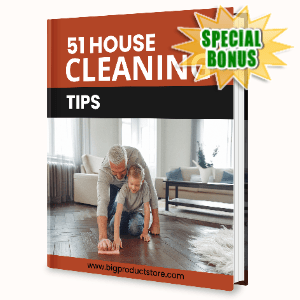 Special Bonuses - June 2020 - 51 House Cleaning Tips