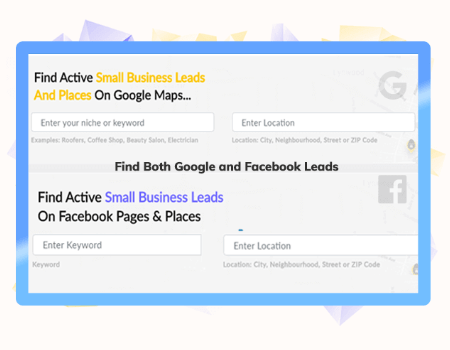 LeadsGorilla Features - Get Clients from Facebook and Google