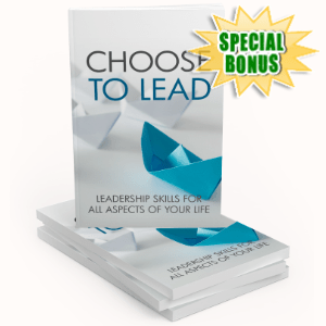 Special Bonuses - July 2020 - Choose To Lead Pack
