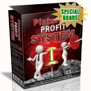 Special Bonuses - August 2020 - Pinterest Profit System Video Series Pack