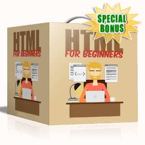 Special Bonuses - August 2020 - HTML For Beginners Video Series Pack