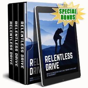 Special Bonuses - September 2020 - Relentless Drive Video Upgrade Pack