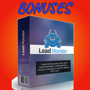 SurveyChimp Bonuses  - Lead Monster Pro with Developer License