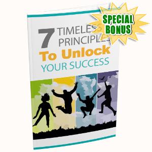 Special Bonuses - December 2020 - 7 Timeless Principles To Unlock Your Success