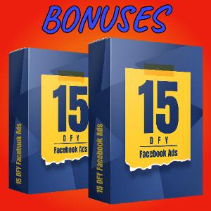 Spyvio Bonuses  - 15 DFY Facebook Ads