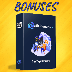 MediaCloudPro V2 Bonuses  - True Tags Software