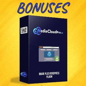 MediaCloudPro V2 Bonuses  - Image Plus WordPress Plugin