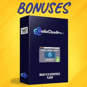 MediaCloudPro V2 Bonuses  - Image Plus WordPress Plugin
