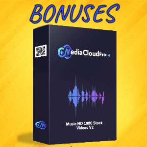 MediaCloudPro V2 Bonuses  - Music HD 1080 Stock Videos V2