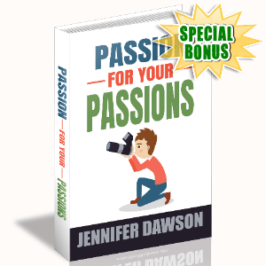 Special Bonuses - January 2021 - Passion For Your Passions