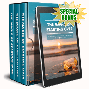 Special Bonuses #18 - February 2021 - The Magic Of Starting Over Video Upgrade Pack