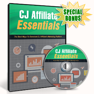 Special Bonuses #31 - February 2021 - CJ Affiliate Essentials Video Upgrade Pack