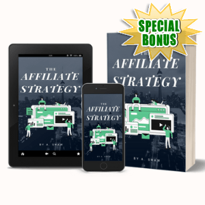 Special Bonuses #41 - May 2021 - The Affiliate Strategy