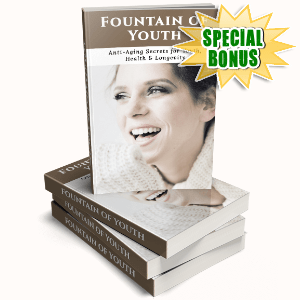 Special Bonuses #31 - June 2021 - Fountain Of Youth Pack