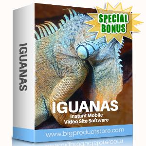 Special Bonuses #8 - August 2021 - Iguanas Instant Mobile Video Site Software