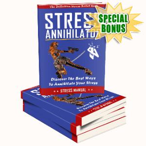 Special Bonuses #14 - August 2021 - Stress Annihilator Pack