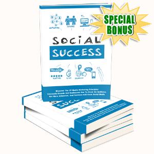Special Bonuses #22 - August 2021 - Social Success Pack