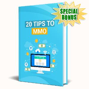 Special Bonuses #20 - October 2021 - 20 Tips To Make Money Online