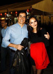 Felipe Folgosi e Caren Utino: membros do júri do Miss Nikkey