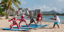 Ultraman does Hawaii (2)-noscale