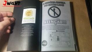 Ultima página e impressão na terceira capa