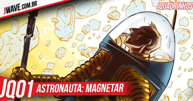 JWave Quadrinhos Astronauta Post