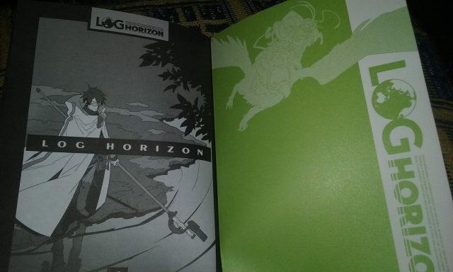 Um pouquinho da edição brasileira de Log Horizon