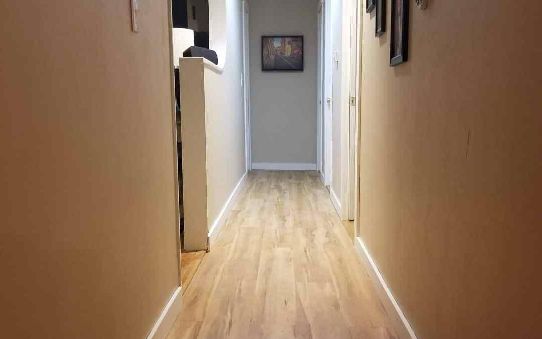 Hallway Installation, Saco, Maine