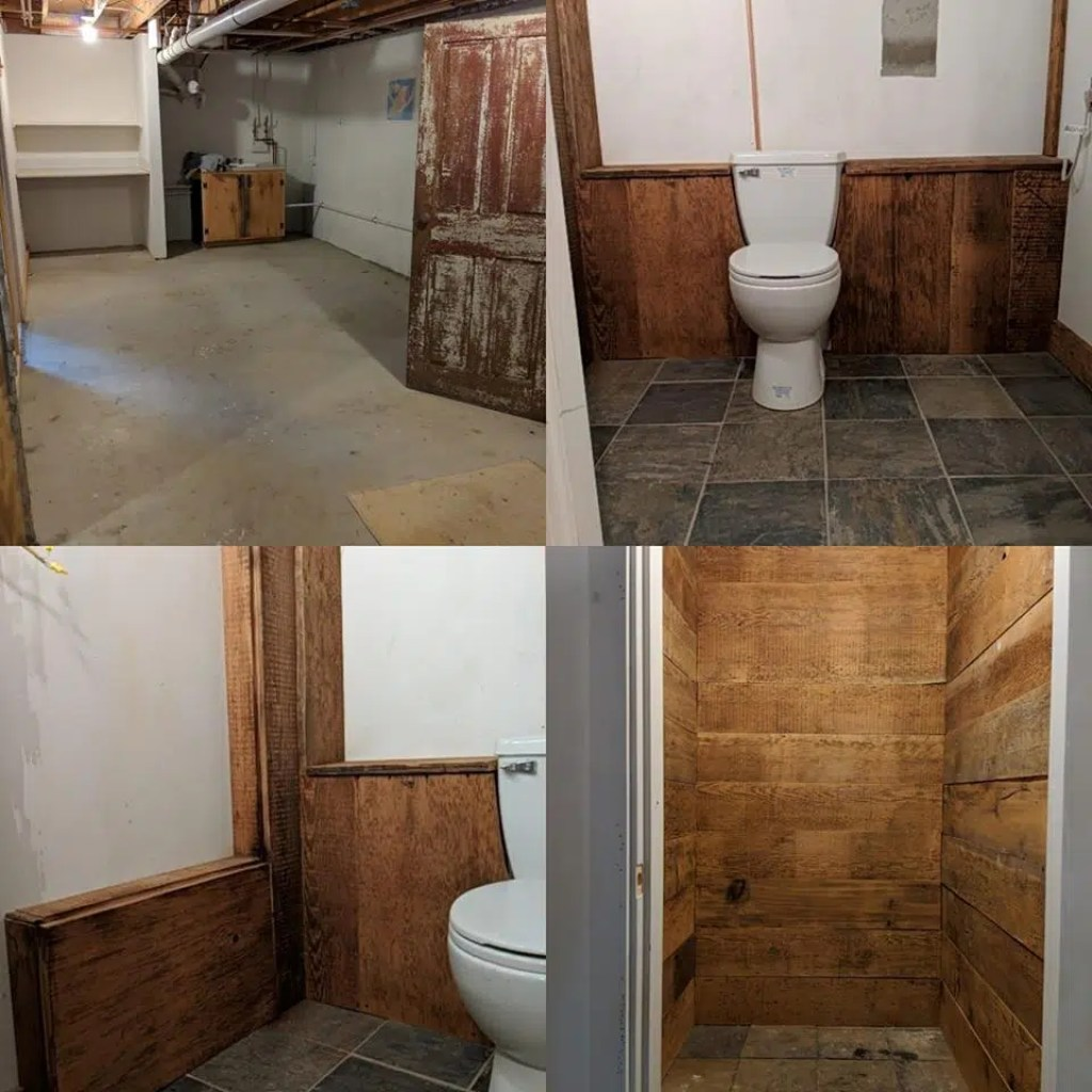 Basement Remodel, North Yarmouth, Maine