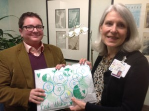 Delivering holiday happiness to hospital patients – J