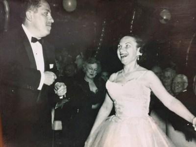 Doris Sperber with her late husband, Reuben, in the 1940s (Photo/Courtesy Steven Sperber)