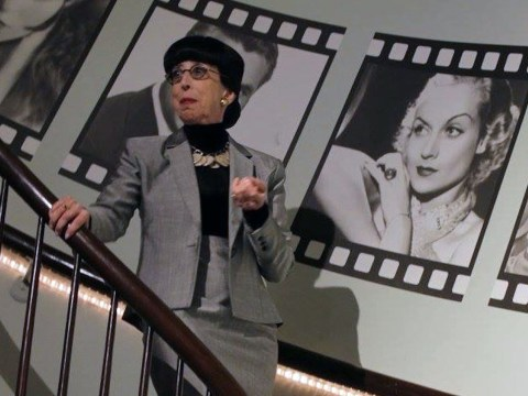 "Susan Claassen transforms into the legendary costume designer in ""A Conversation with Edith Head"""
