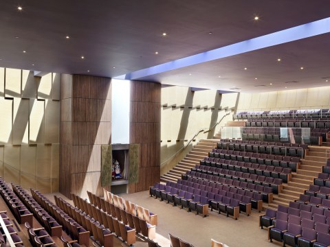 The interior of Congregation Beth Sholom's main sanctuary. (Photo/From file)