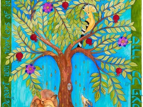 """The Tree of Life Is Weeping"" by Rabbi Me'irah Iliinsky"