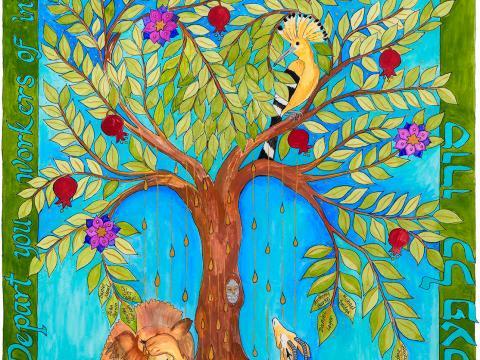 """The Tree of Life Is Weeping"" by Rabbi Me'irah Iliinsky"