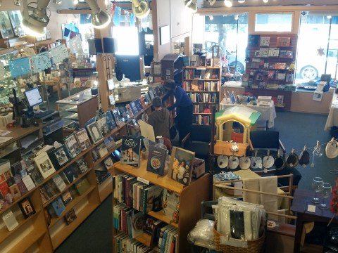 The interior of Afikomen Judaica in 2016 (Photo/David A.M. Wilensky)