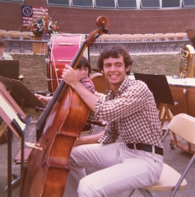 Rob was an avid cello player