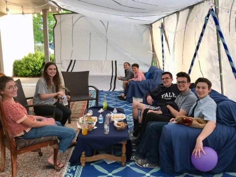 Teen Seder at Congregation Shir Shalom in Sonoma