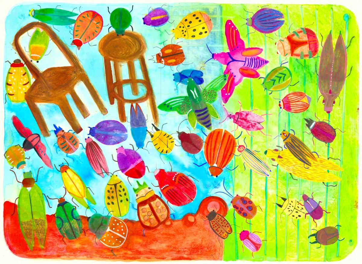 """Beetles""by Cynthia Pepper"