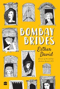 "Cover of ""Bombay Brides,"" a short story collection by Esther David"